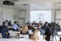 Pressekonferenz zum Projektabschluss