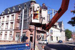 Reparatur der Kreuzung