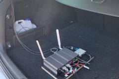 OBU in a test vehicle