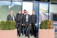 2019: Prof. Dr.-Ing. Dietmar Brück and  Prof. Dr.-Ing. Dieter Leonhard