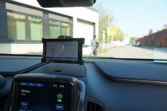 Warnung über Einsatzfahrzeuge als Szenario des vernetzten Fahrens