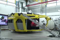 Physical simulation of the car movements