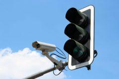 Ampel mit Verkehrskamera in Merzig